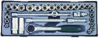 Набор инструмента ММ,SAE (32пр)