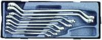 Набор накидных ключей 45 SAE (8пр)