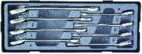 Набор трещоточных реверсивных ключей SAE (8пр)