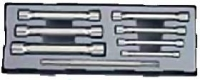 Набор трубчатых 6-гр. ключей (8пр)