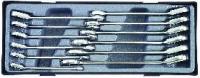 Набор трещоточных ключей реверсивных (12пр)