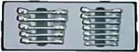 Набор ключей малых комбинированных (12пр)