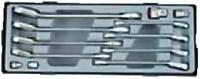 Набор трещоточных ключей реверсивных SAE(12пр)