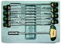Набор Torx Т-образ. торцевых ключей (9 пр)