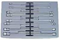 Набор торцевых ключей с карданом длинных (8пр)