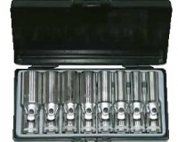 "1/2"" Набор глубоких головок с карданом SAE(8пр)"