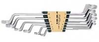 Набор накидных ключей 75о SAE (6пр)