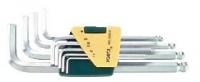 Набор 6-гр. ключей с шаром длинных SAE(9пр)