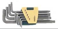 Набор ключей Torx с отв. длинных (9пр)