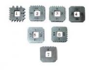 Набор квадратных винторезочных плашек (7пр)